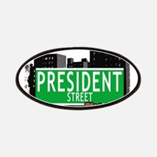 PRESIDENT STREET, BROOKLYN, NYC Patches
