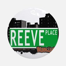 REEVE PLACE, BROOKLYN, NYC Ornament (Round)