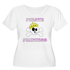 Pirate Princess Plus Size T-Shirt