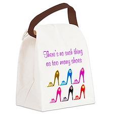 SHOE ADDICT Canvas Lunch Bag