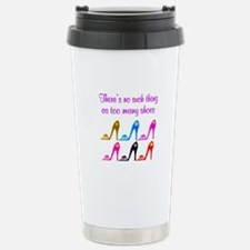 SHOE ADDICT Stainless Steel Travel Mug