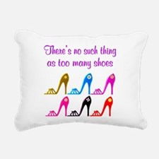 SHOE ADDICT Rectangular Canvas Pillow