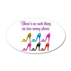 SHOE ADDICT Wall Decal