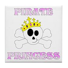Pirate Princess Tile Coaster