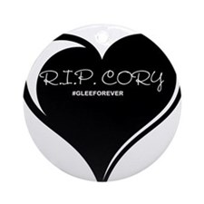 Rest In Peace Cory Monteith Ornament (Round)