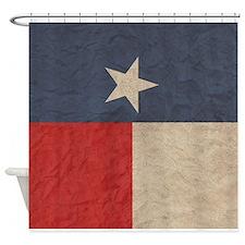 Texas Flag, Shower Curtain