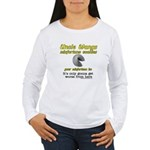 It's Only Gonna Get Worse Fro Women's Long Sleeve
