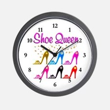 SHOE PRINCESS Wall Clock
