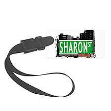 SHARON ST, BROOKLYN, NYC Luggage Tag