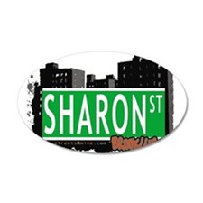 SHARON ST, BROOKLYN, NYC Wall Decal