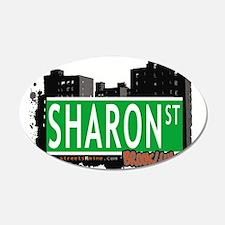 SHARON ST, BROOKLYN, NYC Wall Decal