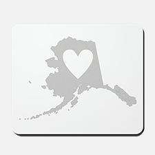 Heart Alaska Mousepad