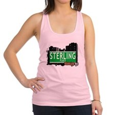 STERLING PLACE, BROOKLYN, NYC Racerback Tank Top