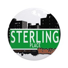STERLING PLACE, BROOKLYN, NYC Ornament (Round)