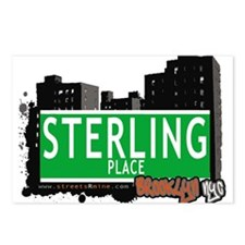 STERLING PLACE, BROOKLYN, NYC Postcards (Package o