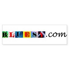 Bluesy Bumper Bumper Sticker