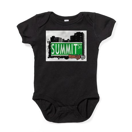 SUMMIT ST, BROOKLYN, NYC Baby Bodysuit