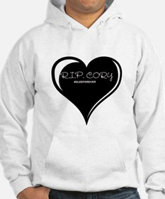 Rest In Peace Cory Monteith Hoodie