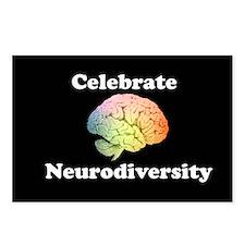 Celebrate Neurodiversity Postcards (Package of 8)