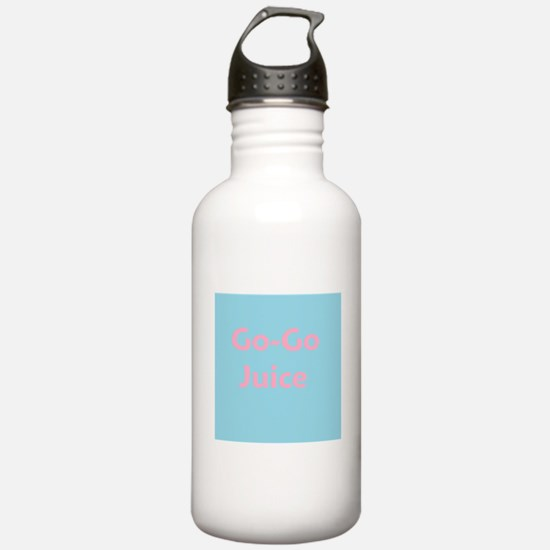 Go Go Juice in Pink and Blue Water Bottle