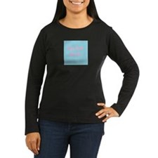 Go Go Juice in Pink and Blue Long Sleeve T-Shirt