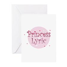 Lyric Greeting Cards (Pk of 10)