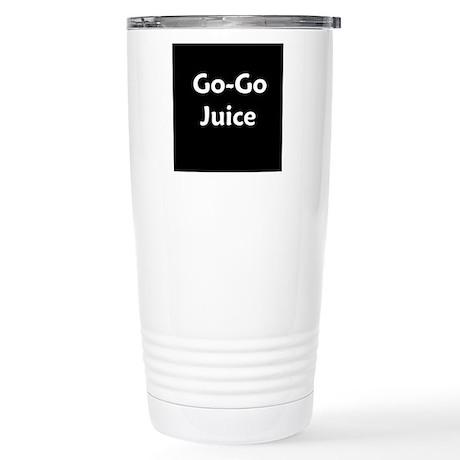 go go juice in B&W Travel Mug