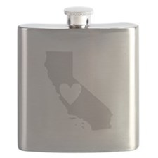 Heart California Flask