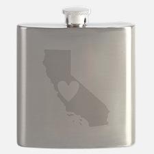 Heart California Flask