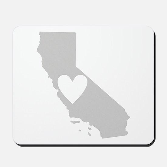 Heart California Mousepad