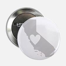 """Heart California 2.25"""" Button"""