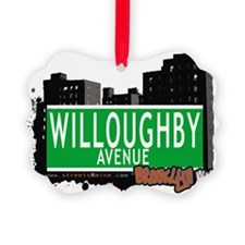 WILLOUGHBY AVENUE, BROOKLYN, NYC Ornament