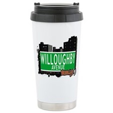 WILLOUGHBY AVENUE, BROOKLYN, NYC Travel Mug