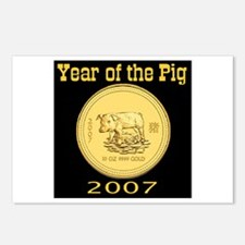 2007 Year of the Pig Postcards (Package of 8)