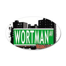 WORTMAN AV, BROOKLYN, NYC Wall Decal