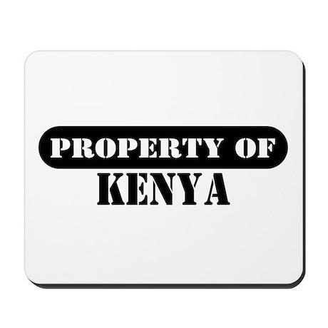 Property of Kenya Mousepad