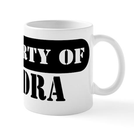 Property of Kendra Mug