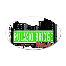 Pulaski Bridge, BROOKLYN, NYC Wall Decal