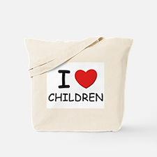 I love children Tote Bag