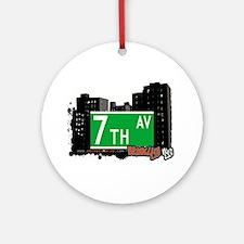 brooklyn 7th avenue.jpg Ornament (Round)