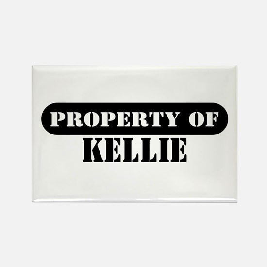 Property of Kellie Rectangle Magnet
