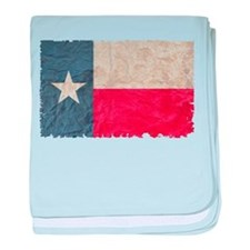 Texas Flag baby blanket