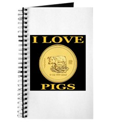 I Love Pigs Journal