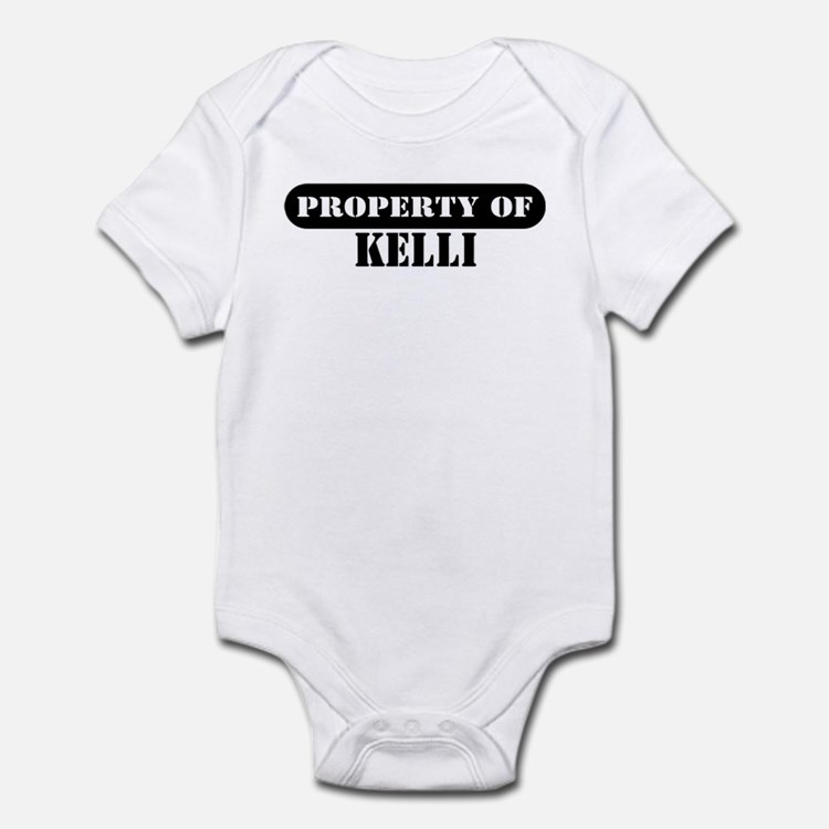 Property of Kelli Infant Bodysuit