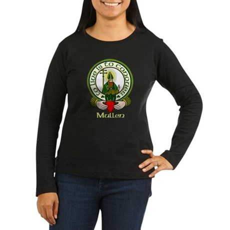 Mullen Clan Motto Women's Long Sleeve Dark T-Sh