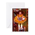 Kirk 1 Greeting Cards (Pk of 10)