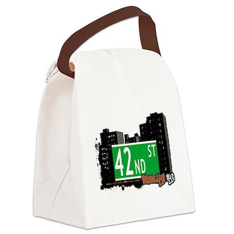 42nd street, BROOKLYN, NYC Canvas Lunch Bag