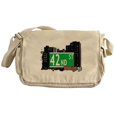 42nd street, BROOKLYN, NYC Messenger Bag