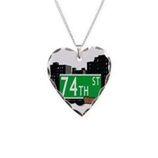 74th street, BROOKLYN, NYC Necklace