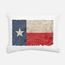 Texas Flag Rectangular Canvas Pillow